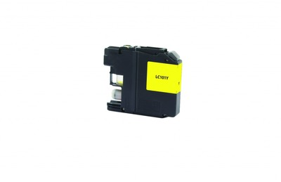 Brother LC101 ---YELLOW (Item#2077)... (INK REFILL)